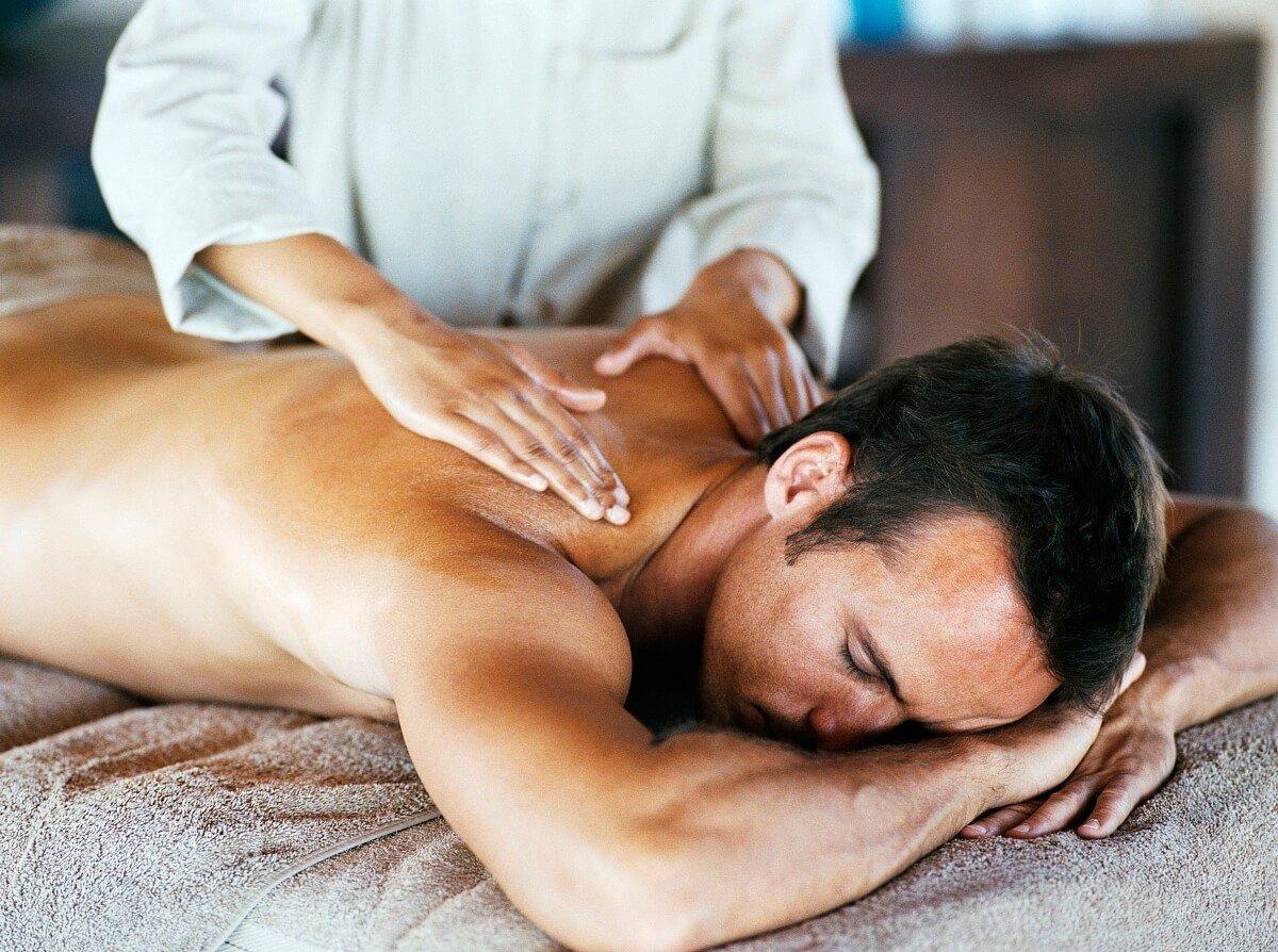 Делать массаж фото